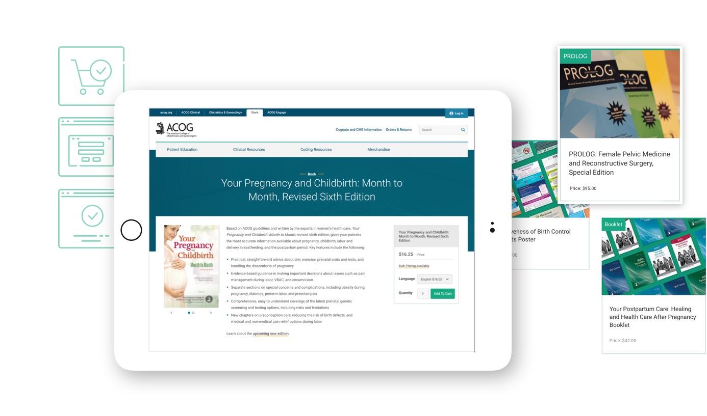ACOG e-commerce