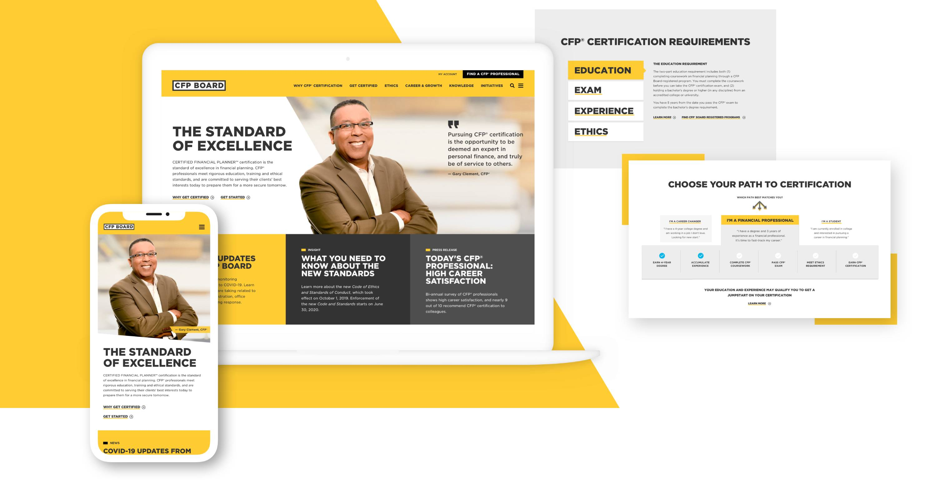 CFP Board site content examples